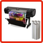 Photographic plotter paper